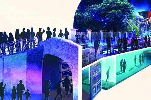 """Il<a href=""""http://www.salonemilano.it"""">Salone del Mobile.Milano</a> rende omaggio a Leonardo con un'installazione dedicata al suo genio e ai suoi studi sull'acqua. Si trova all'interno dellaConca dell'Incoronata dove verrà creato un vero e proprio innesto architettonico sotto forma di grande specchio d'acqua al cui estremo uno schermo a led diventerà una finestra sulla Milano del futuro.<em>AQUA. La visione di Leonardo</em> è visitabile dal 6 al 14 aprile"""