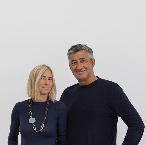 Hani Rashid e Lise Anne Couture dello studio Asymptote Architecture