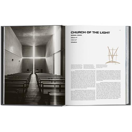 La Chiesa della Luce si trova a Osaka. È stata costruita nel 1989 e si caratterizza per il contrasto tra l'interno buio e la forte luce che penetra dalla fessura a croce