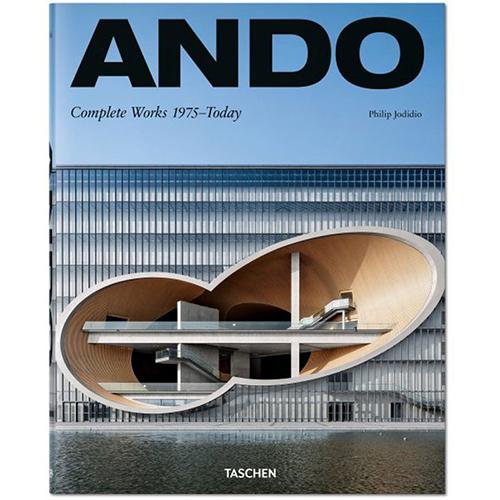 La copertina del libro <em>Ando. Complete Works 1975-Today</em> di Philip Jodidio (Taschen, 740 pp, 50 euro)