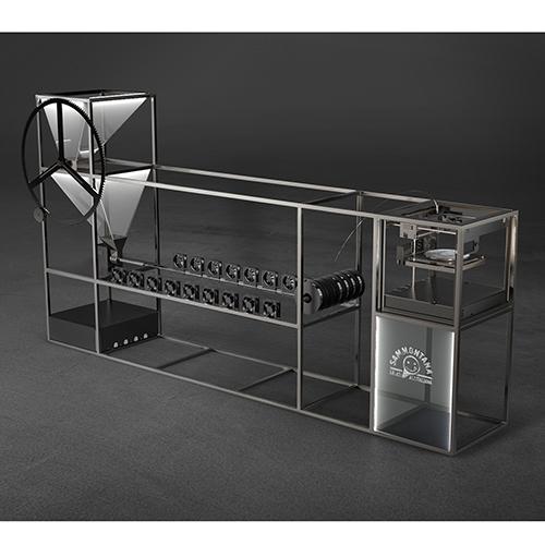La Kleemotion metterà a disposizione una macchina capace di trasformare la plastica usata in un disco 33 giri perfettamente funzionante