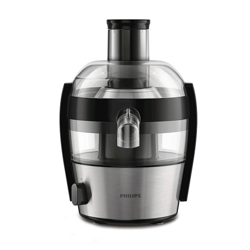 La centrifuga  Viva Collection  di Philips prepara fino a 2 litri di succo in una sola volta