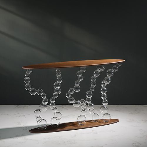 Simone Crestani, Eterea console table (foto Alberto Parise)