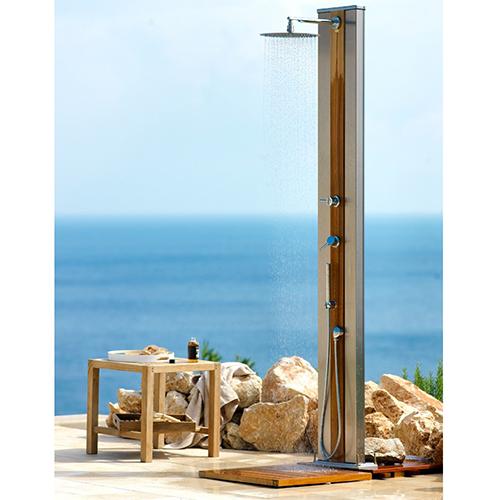 """La doccia a riscaldamento di <a href=""""http://www.unopiu.it"""">Unopiù</a> ha una capacità serbatoio pari a 35 litri"""
