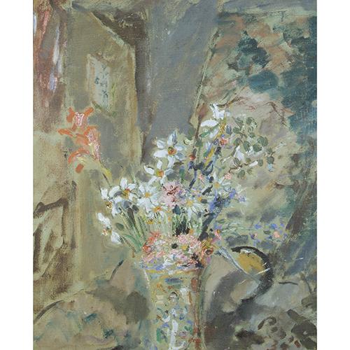 Filippo De Pisis <em>Vaso con fiori</em>, 1939 - Galleria Nazionale d'Arte Moderna e Contemporanea, Roma