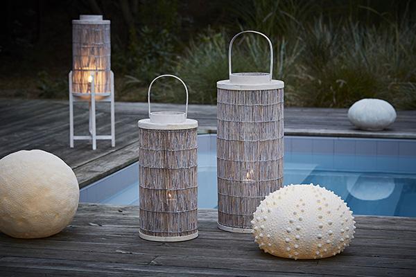 In giardino o in terrazzo: le lampade di Côté Table per la stagione estiva traggono ispirazione dalla natura