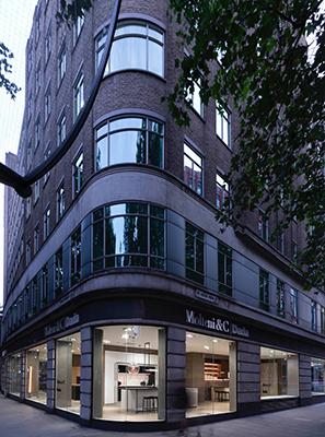 Il rinnovato flagship di Molteni&C|Dada si trova al 199 di Shaftesbury Avenue