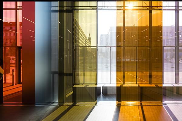 Un particolare dell'Open Stage, il piano terra del museo (foto: Thomas Meyer / OSTKREUZ, 2019)