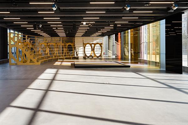 L'Open Stage, il piano terra del museo (foto: Thomas Meyer / OSTKREUZ, 2019)