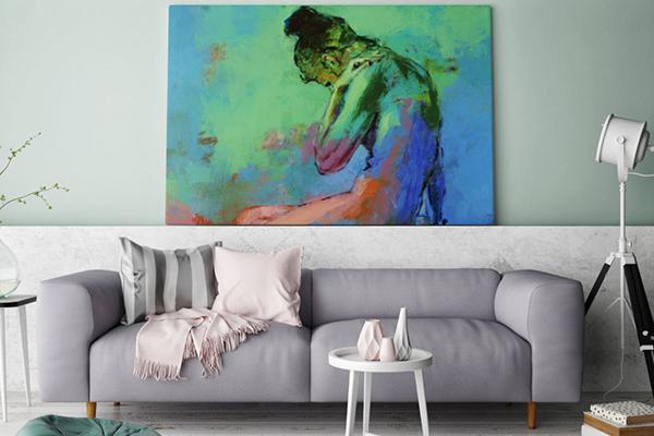 Meno riverbero con l'arte: sono le tele fonoassorbenti Crazy Home Paintings di Momenti Casa, sulle quali stampare qualsiasi disegno su formati a partire da 50 per 50 centimetri