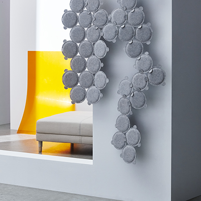 Ikea debutta in questo settore con ilpannellofonoassorbenteOddlaug:migliora l'acustica della casa interferendo con le onde sonore