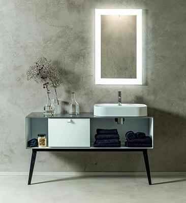 La collezione<em>Dama</em>sfrutta al meglio lo spazio disponibile grazie allalibertà compositiva. Di seguito altri esempi
