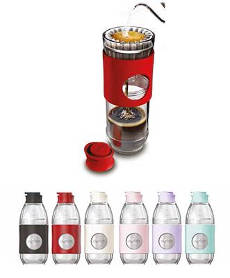 Realizzata con materiali riciclati al 100% e bio-plastica, laCafflano Go-Brew è una bottiglia che può essere utilizzata per preparare il caffè o come tazza da asporto per qualsiasi bevanda. Al progetto è andato loSmart Label