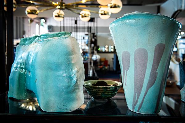 Vaso in ceramica di Claudio Gallo, anni Settanta