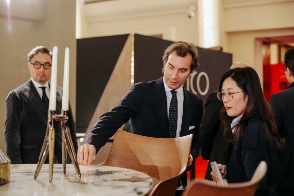 Lo spazio espositivo di Kartell, una delle 127 aziende che rappresentano in Cina il design italiano. A seguire altri scatti tra gli stand