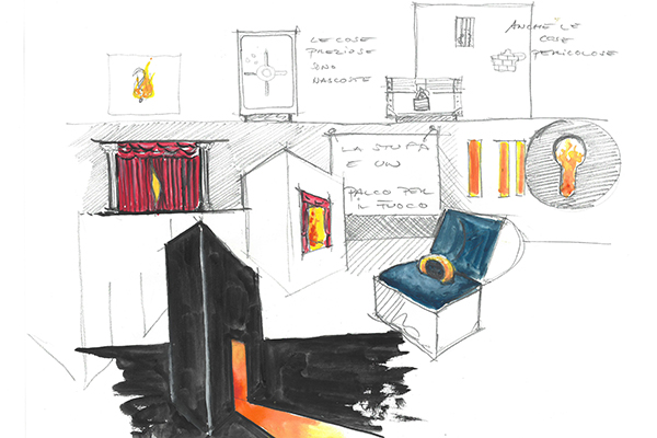 Reflex nello schizzo del designer Michael Geldmacher