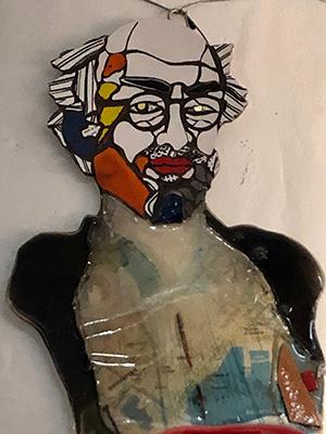 Gaetano Pesce, autoritratto