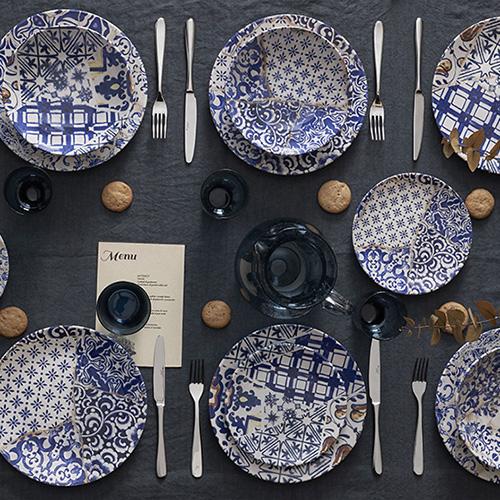 "La collezione per la tavola <em>Gaudì</em> di <a href=""https://www.tognana.com/it/andrea-fontebasso/"">Andrea Fontebasso 1760</a> si ispira all'architettura modernista catalana"
