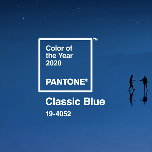 Il 19-4052 Classic Blue è stato scelto da Pantone come Color of the year 2020