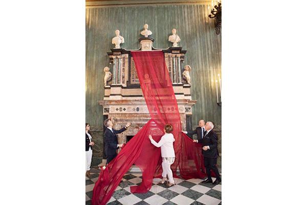 L'11 febbraio è stato presentatoil restauro delCamino Monumentale dei Savoiache arricchisce ilSalone delle Guardie Svizzere a Palazzo Reale di Torino