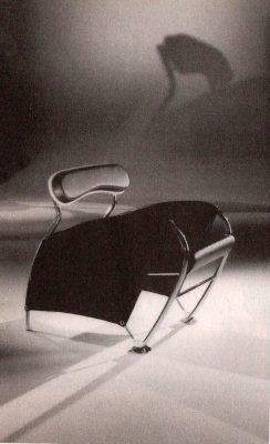 Dinamic collection poltrona della linea Dinamic, designer Iosa Ghini, 1986