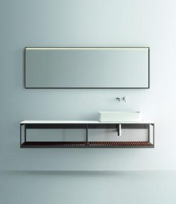 """Fjord, collezione di mobili da bagno disegnata per <a href=""""https://noorth.it/"""">Noorth</a>"""