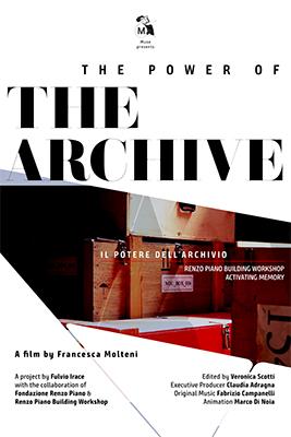 <em>Il Potere dell'Archivio. Renzo Piano Building Workshop</em>, dal 15 maggio