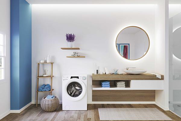 """<a href=""""http://www.candy.it/"""">Candy</a> Rapidò è la lavatrice che fa risparmiare tempo e diminuisce il consumo d'acqua grazie a 9 programmi rapidi"""