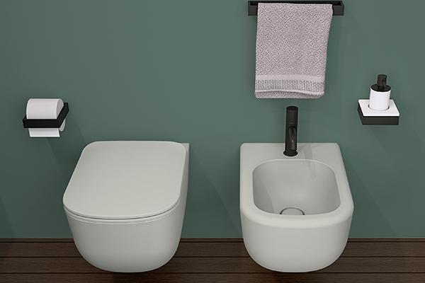 """Il sistema Rimless 2.0 brevettato da <a href=""""https://www.ceramicacielo.it/it"""">Ceramica Cielo</a> assicura uno scarico efficiente con appena 3 litri d'acqua"""