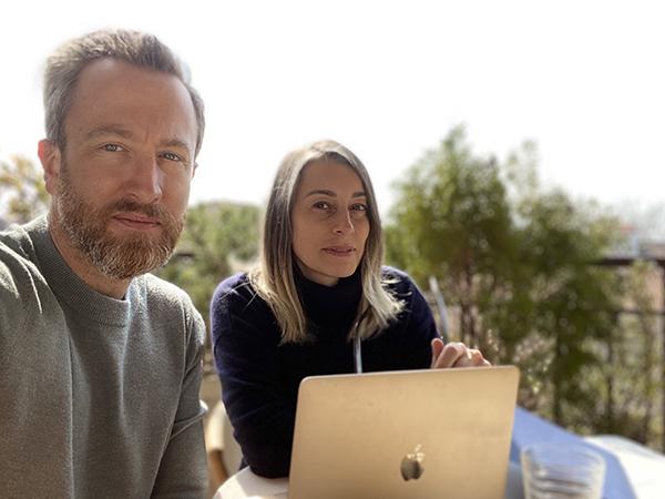 Coppia nella vita e nel lavoro, Cinzia Cumini e Vicente Garcìa Jiménez vivono a Udine