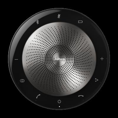Jabra speak 710 di Jabra Gn, è l'altoparlante portatile dall'audio nitido e chiaro per chiamate in teleconferenza