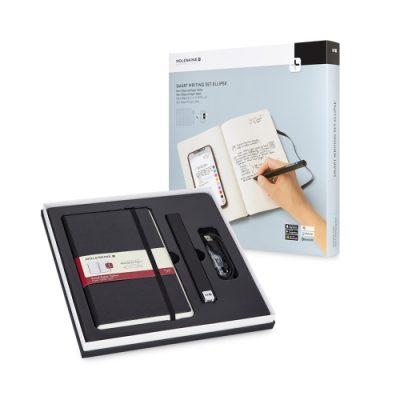 Lo smart writing set Ellipse di Moleskine: il kit di Smartpen e Paper Tablet che traferisce i tuoi appunti dalla pagina allo schermo