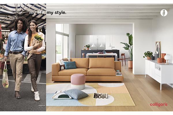 """Un'immagine, pensata dall'agenzia Pubblimarket2,  intorno al concept """"My life, my style"""". A seguire altri esempi"""
