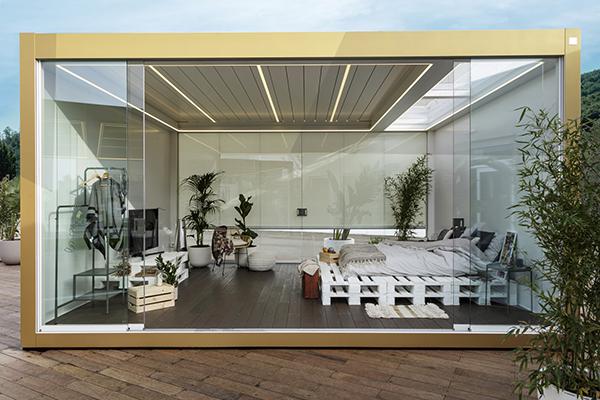 Una camera da letto in giardino? Con Imago Dreaming è possibile