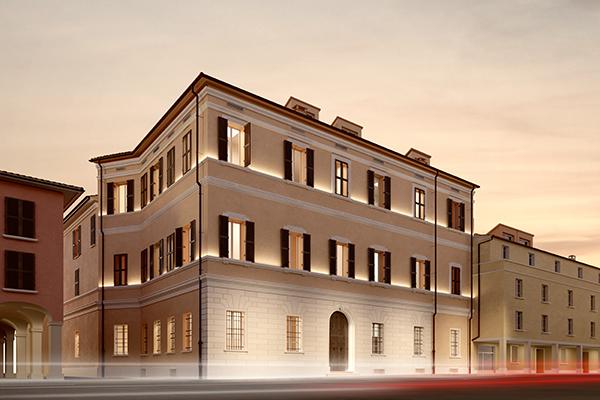 Palazzo Nazario Sauro Risalente al XVII secolo, si affaccia sui tetti di Bologna ed è a due passi dalle Due Torri