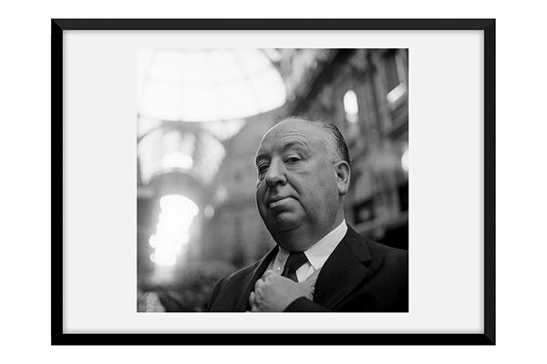 Alfred Hitchcock,1960 (Archivio Farabola)