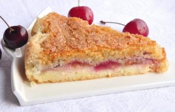 Frangipane alle ciliegie senza glutine