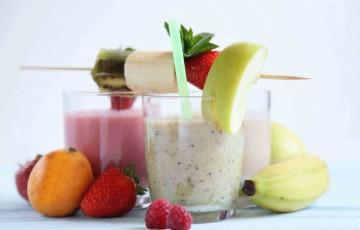 Frullati di frutta allo yogurt
