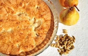 Torta di pere senza glutine nè lattosio