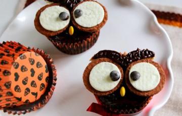 Gufetti Cupcakes di Halloween - ricette nesrine - D - Repubblica.it