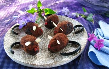 le ricette di Halloween - topolini di cioccolato - ricette ...
