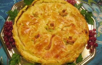 Ricetta torta salata noci e gorgonzola