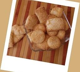 Biscotti croccanti al cocco