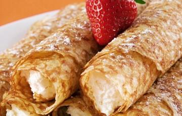 Ricetta crepes dolci in padella