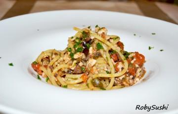 Spaghetti al profumo di Liguria!