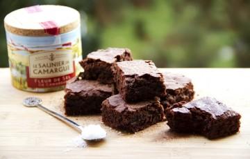 Brownies al cacao e fleur de sel