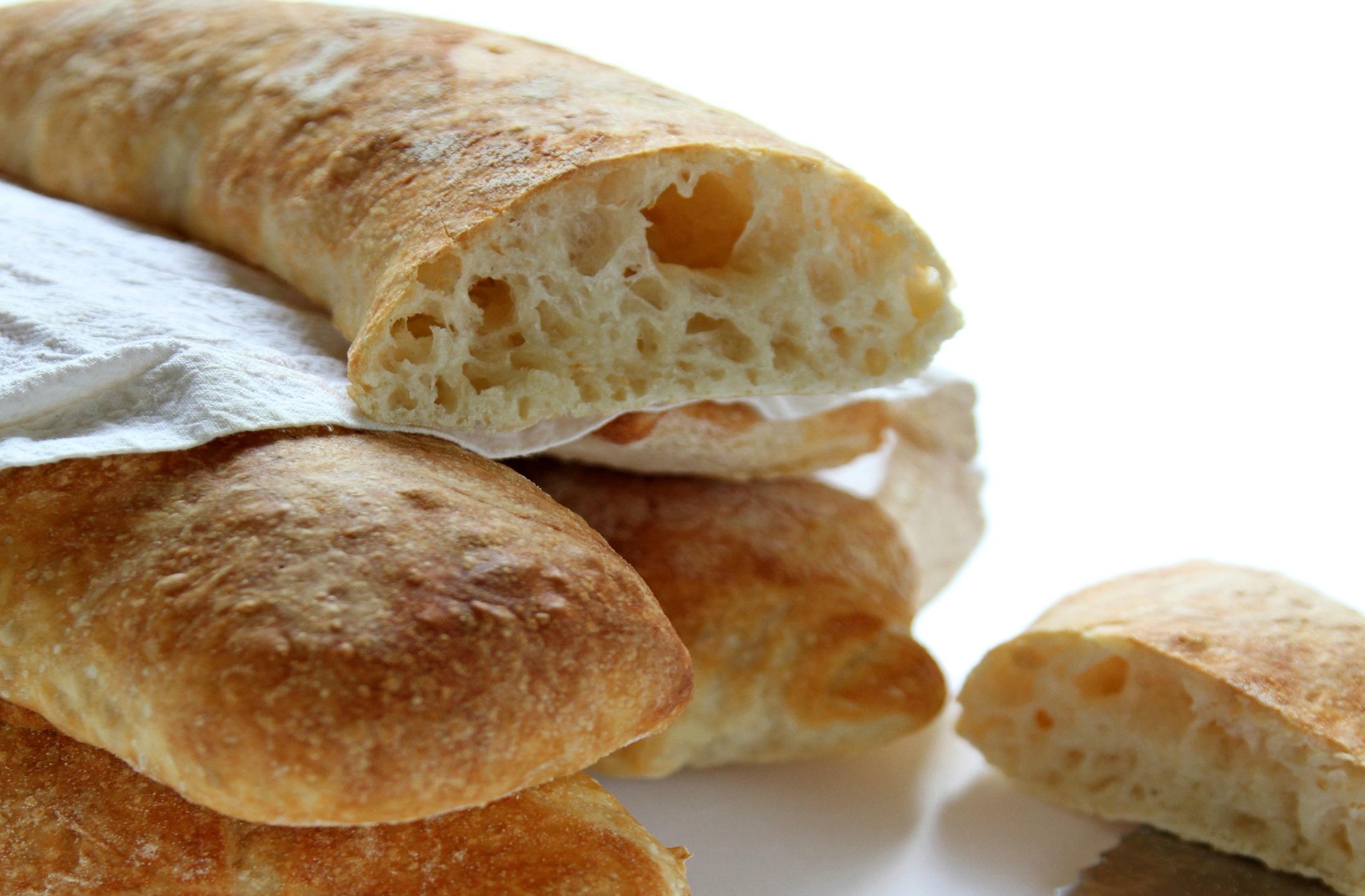Favoloso Ciabatte di pane senza impasto - ricette Donatella Simeone - D  DC79