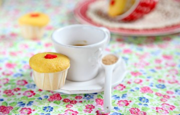 Mini muffin yogurt e vaniglia