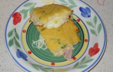 PITTA DI PATATE (con prosciutto e formaggio)