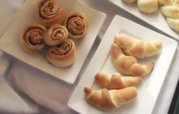 Buffet Natalizio Cookaround : Impasto base per buffet salati ricette monica pennacchietti d
